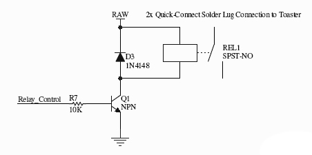 Example Relay Circuit